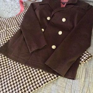Vineyard vines coat jacket lined short M